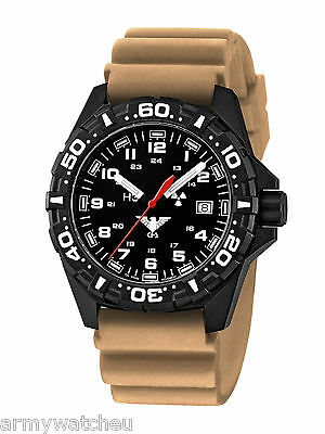 KHS Army Watches Reaper Red H3 light Swiss Movement Rotating Bezel KHS.RE.DT