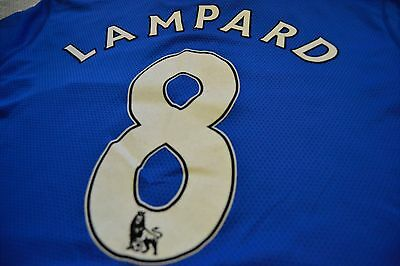 Match worn Chelsea FC football shirt - Frank Lampard - Premier League