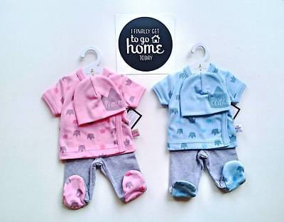 Premature baby take me Home Layette set