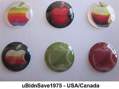 Promotion - 6 Home Button Stickers Apple iPhone iPad Air Mini iPod Touch