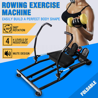 New Hydraulic Home Exercise Rowing Fitness Machine Gym Rower Abdominal Sporting