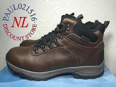 Men's Khombu All Weather Terrain Ravine Leather Hiker Comfy Boots ~ Sizes/ Cond