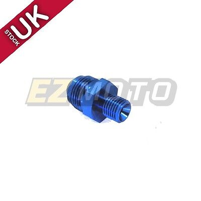UK STOCK !! AN6 AN-6 to M16x1.5 Aluminum Car  Fittings Adapter 16mm Male Dash #6