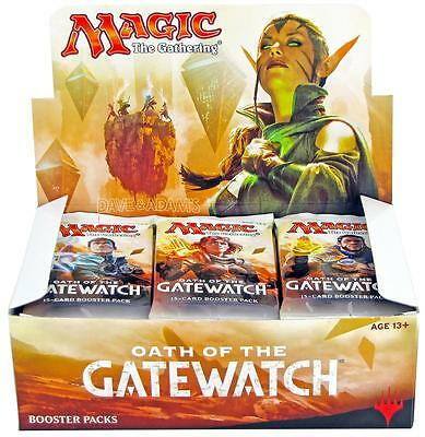 Magic the Gathering Oath of the Gatewatch 36 Booster Box Express Delivery MTG
