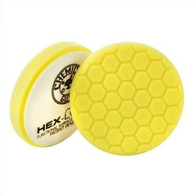 Chemical Guys - HEX LOGIC 6,5 INCH YELLOW HEAVY CUTTING PAD - 165mm