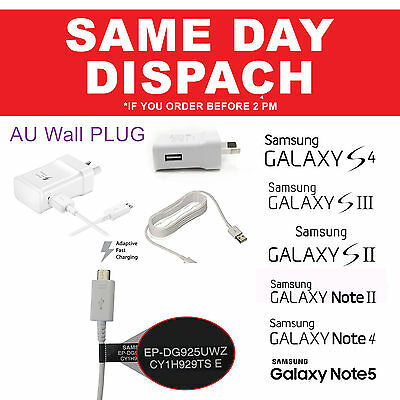 Samsung Original Genuine USB Data Charger Cable Galaxy S4 S5 S6 S7 Note 2 4 5 J7