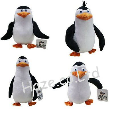 The Penguins of Madagascar Skipper Kowalski Rico Private Plush Toy Doll Gift