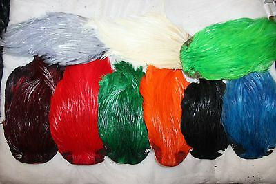 Fly Tying Dyed Cockerel Neck Capes