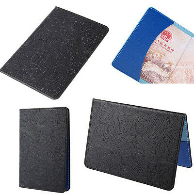 7 Colors Lavender Passport Holder Cover Travel Ticket Pouch Package Bag Case Hot