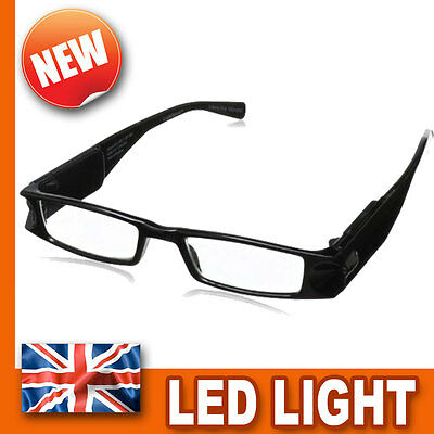 LIGHTSPECS - Reading Glasses x1.5 Twin LED Lights - Work Head Lamp Torch Magnify