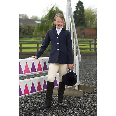 *CLEARANCE* Equetech Medley In Vent Junior Show Jacket - 2 Colours - RRP £60.95