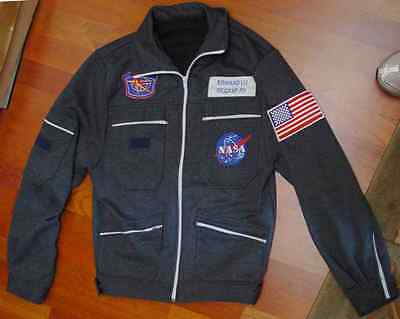 RUSSIA - USA  space program ISS patch US flag for all suits Sokol Made in Russia