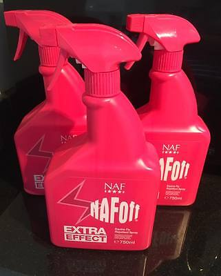 NAF OFF Extra Effect Horse Equine Fly Repellent Spray 750ml FREE POSTAGE