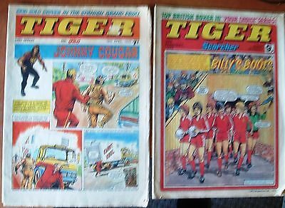 Tiger & Jag  1970 & Tiger & Scorcher 1979 Comics