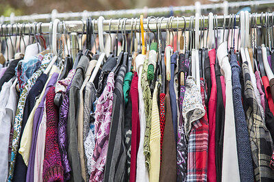 25 PC Wholesale Womens Mixed Lot Clothing - Assorted - Great for Resale
