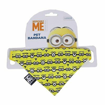 Despicable Me MINION Pet DOG / CAT Bandana - Yellow