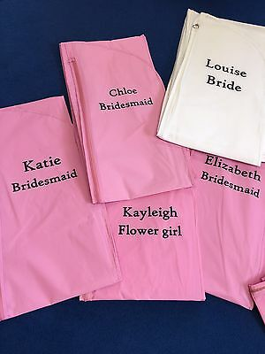 FREE PRINTING - Breathable Bridesmaid Gown Covers Dress Bags
