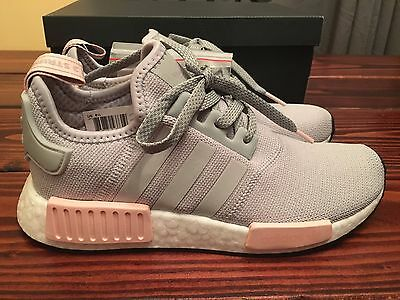 Adidas Nmd R1 Grey Pink By3058 200 00 Picclick