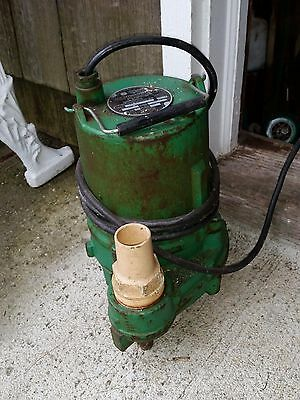 Hydromatic Pump OSP50M1 4HP Submersible Effluent Sump Sewage