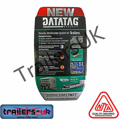 Datatag Trailer ID Thatcham Security System for ALL TRAILERS - KEEP YOURS SAFE