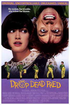 "DROP DEAD FRED Movie Poster [Licensed-New-USA] 27x40"" Theater Size (1991)"