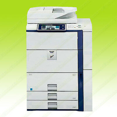 Sharp MX-7001N Tabloid Digital Multifunction Color Laser Copier Printer 70ppm