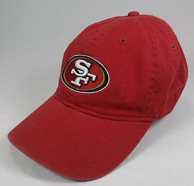 bf693383346 SAN FRANCISCO 49ERS baseball Hat Cap Reebok adjustable NFL SF logo ...