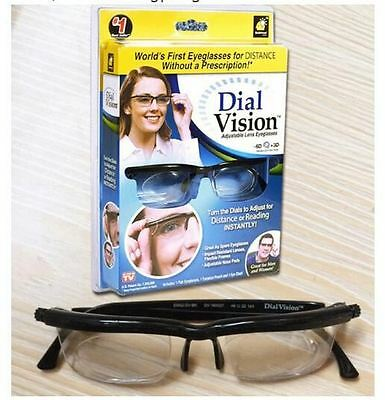 Original Adjustable Glasses FREE SHIPPING hot Adjustable Dial Eye Glasses Vision