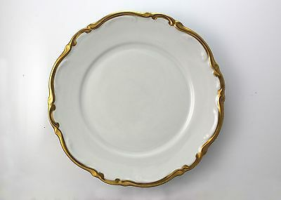 SIX Mitterteich Bavaria Golden Lark Salad Plate Germany 1507 FREE SHIPPING