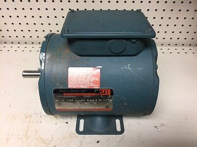 Used, Reliance Motor # P56H3822S-Ou  1/2Hp  1725 Rpm  208-230/460V.  Fr. Fb56