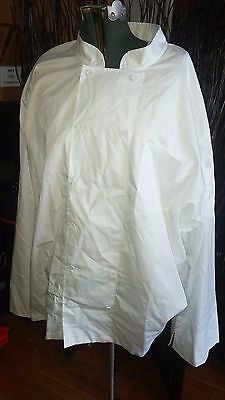 CHEF WORKS White Chef's Coat COOL VENT Light Weight Breathable SIZE 3XL NEW NWT