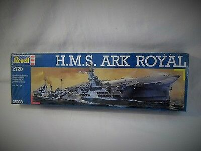 Revell H.m.s. Ark Royal British Aircraft Carrier 1/720 Scale Model Kit 05038