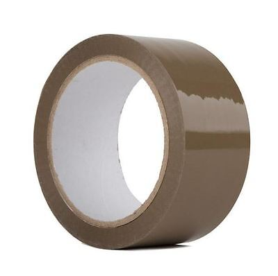 "360 Rolls-2""x110 Yards(330' ft) Brown Carton Sealing Packing Packaging Tape"
