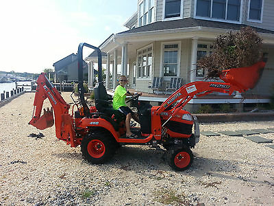 Kubota Bx25D Tractor With Loader And Backhoe