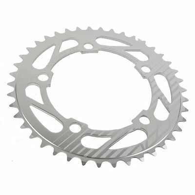 Insight 5-Bolt BMX Chainring 110mm BCD 44T Polished