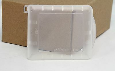 Genuine Nikon BM-1 Cover For LCD Monitor Hard Cover Protective D1, D1H, D1X