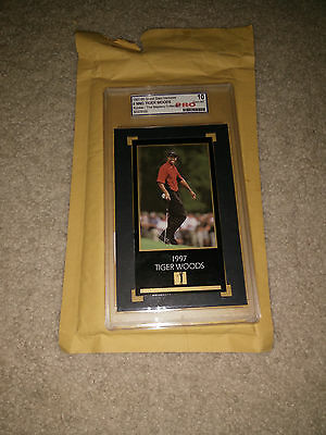 1997 Tiger Woods Rookie PRO GEM MT 10