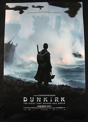 Dunkirk Original Theater Movie Poster One Sheet DS 27x40