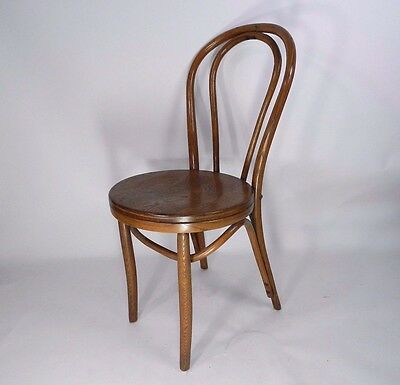 Vintage Thonet Bentwood Dining Cafe Chair Bistro C Late 1940s