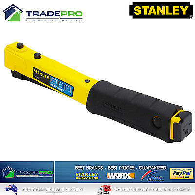 Hammer Stapler Tacker Stanley New Model Professional Heavy Duty Staple Hand Gun