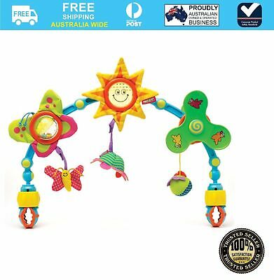Tiny Love Sunny Stroller Baby Activity Toy Arch #`BM-IGC015956