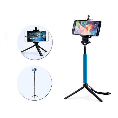 Universal Portable Tripod Monopod Stand Holder For Cellphone Camera Gopro 3+ 4