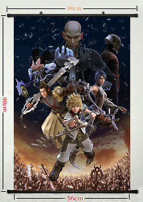 Kingdom Hearts Action Play Game Classic 8x12 24x36 Hot Poster Y221