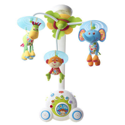 Tiny Love Soothe N Groove Jungle Musical Cot Mobile