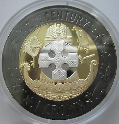 Gibraltar 2001 Tri-color 1oz silver with case and certificate