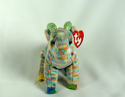 Ty Beanie Baby Zodiac GOAT w  Tag ERRORS Plush Toy RARE PE NEW RETIRED 260a04a305fc