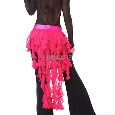 NEW 2017 fancy dress  Belly Dance Costume Hip Scarf Belt Waves tassel Hip Skirt