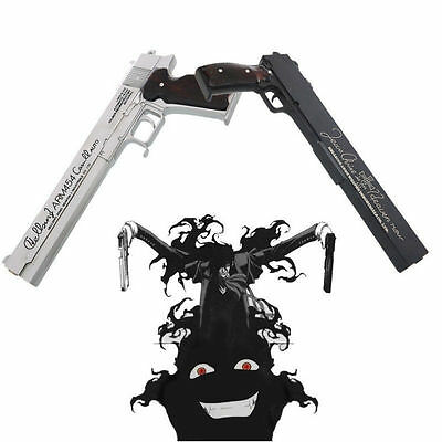 Games Hellsing Ultimate Alucard Cosplay Props Resin Guns 1:1 Collection Handmade