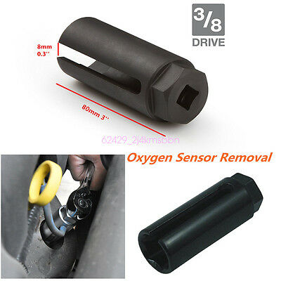 Universal 7/8'' 22mm Car Oxygen Sensor 3/8'' Drive Socket O2 Removal Hand Tool
