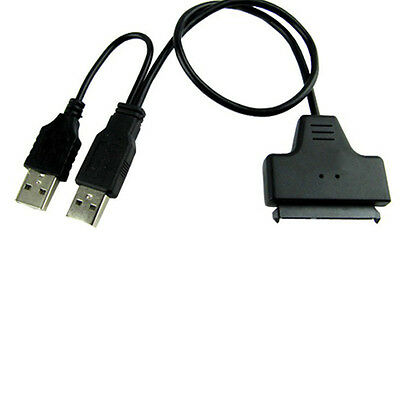USB 3.0 to SATA 22-Pin Power Cable Adapter for 2.5'' HDD Harddrive Disk Driver